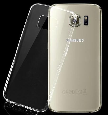 capa samsung galaxy s6 ultra fina silicone