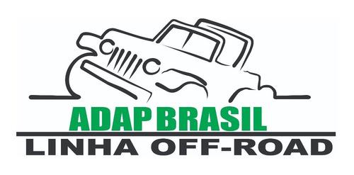 capa seca mwm 2.8 x câmbio hilux 3.0 mecânica- adap brasil