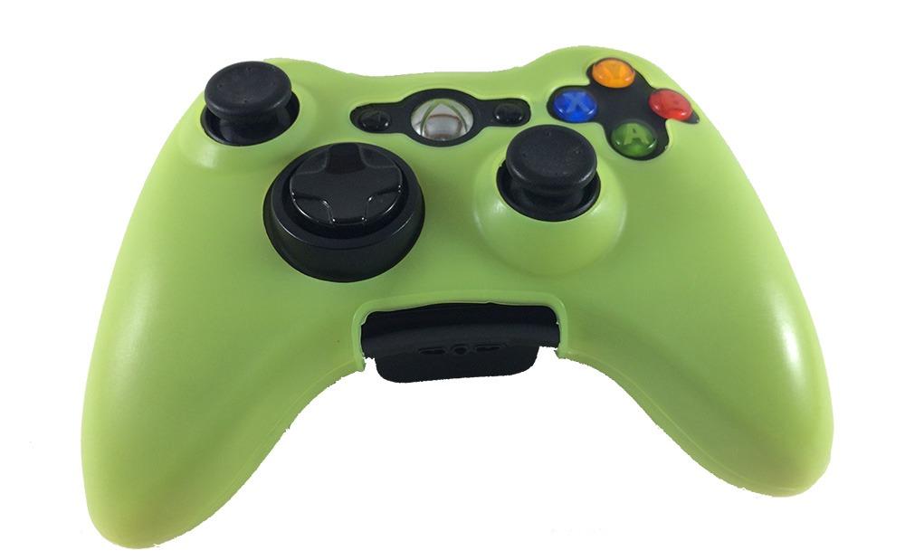 capa silicone controle xbox 360 oem fr-313 - verde claro. Carregando zoom. f22a068952