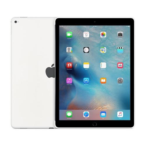 capa silicone ipad pro 12.9  branca original apple