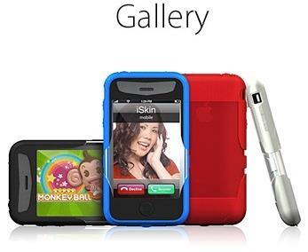 capa silicone iskin revo2 original p/ iphone 3g e 3gs