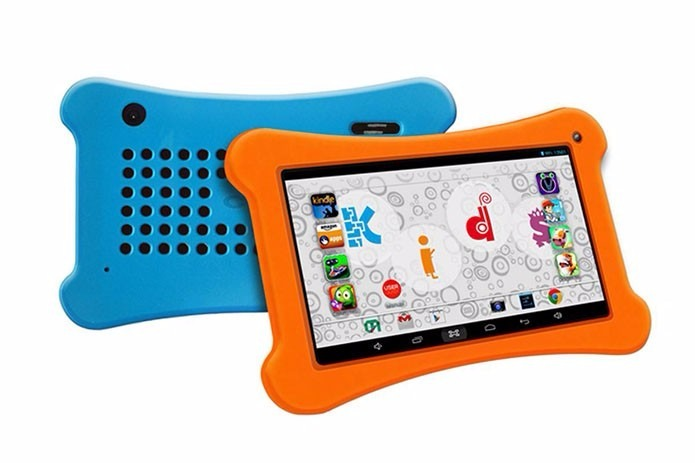 fc7dfab2420bb Capa Silicone Kids Tablet Cce Motion Tab Tr71 Tr72 + Pelicul - R  36,99 em  Mercado Livre