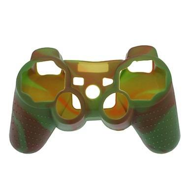 capa silicone lavável p/ controle play 3 / ps3 várias cores