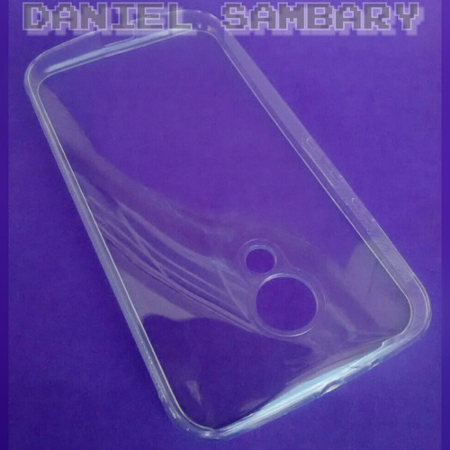 capa silicone motorola moto g2 xt1068 tpu +pelicula de vidro