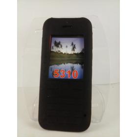 Capa Silicone Preta Nokia 5310 N5310 Xpressmusic