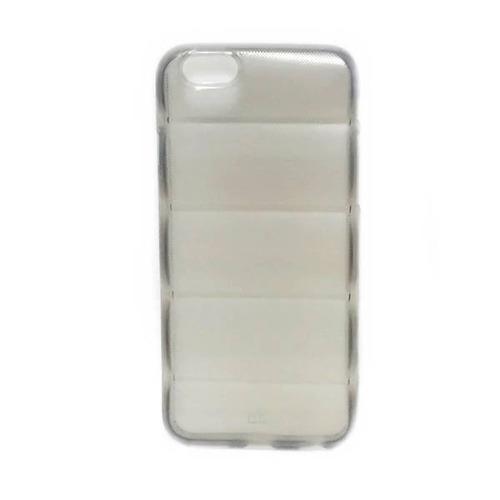 capa silicone quadrada para iphone 6 - preta
