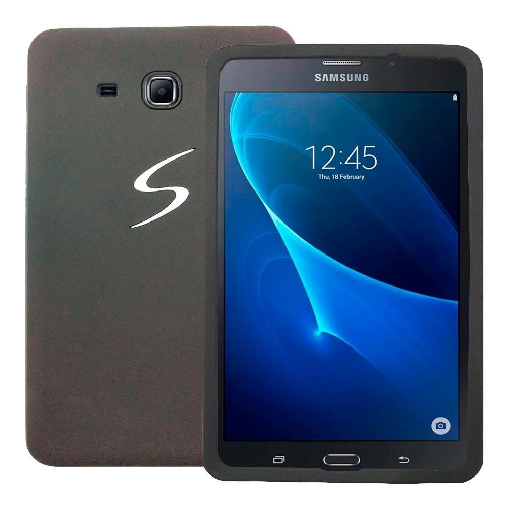 5a7aebcab655f capa silicone tablet samsung galaxy tab3 7 t110 t113 + vidro. Carregando  zoom.