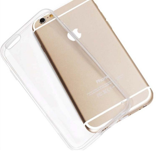 capa silicone tpu iphone 6 4.7 transparente