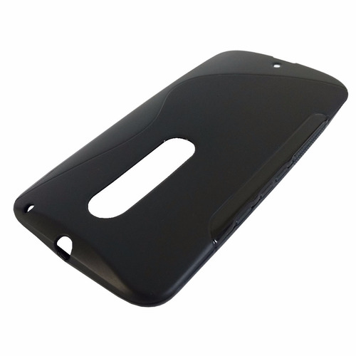 capa silicone tpu moto x style xt1572 5.7 + pelicula vidro