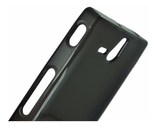 capa silicone tpu sony xperia u st25i st25 pelicula gratis
