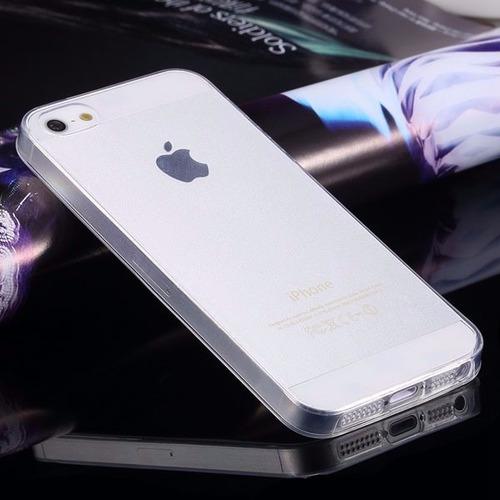 capa silicone ultrafina casca de ovo iphone 5c+ pelic. vidro