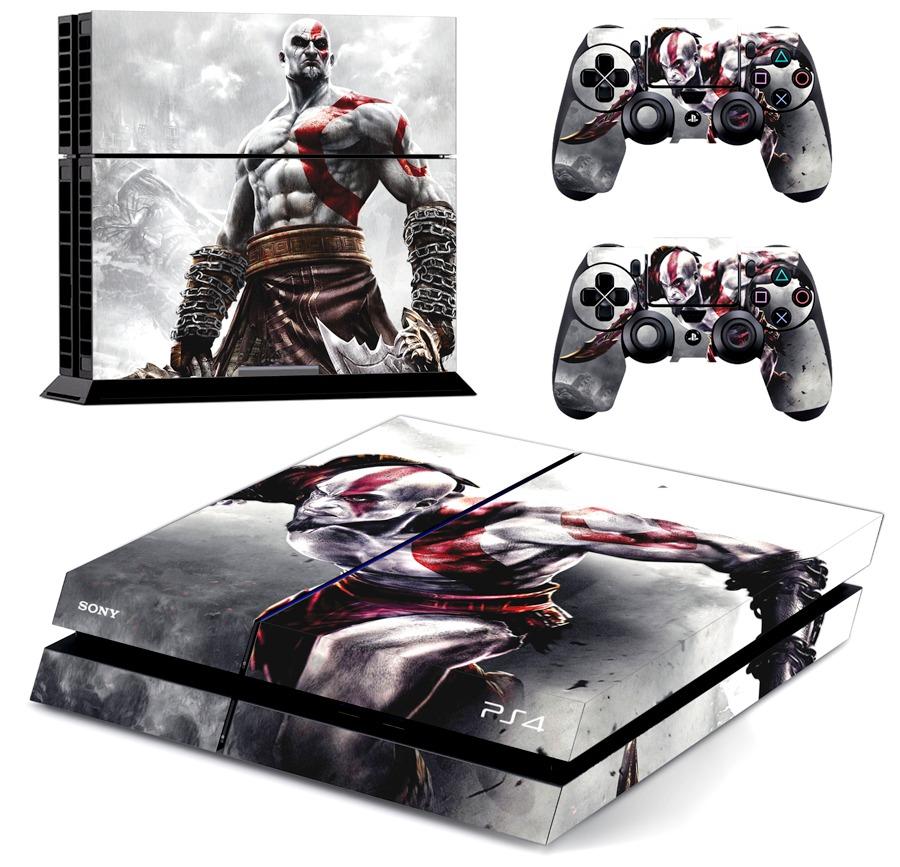 Mueble Aparador Gris Ceniza ~ Capa Skin Adesivo Playstation 4 Ps4 God Of War Frete 9,00 R$ 34,98 em Mercado Livre