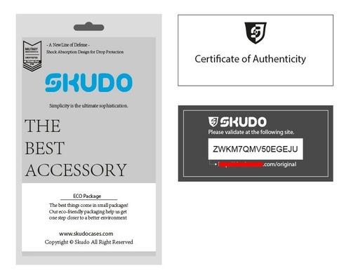 capa skudo moto z3 play | case anti shock + certificado