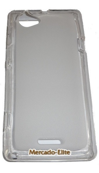 promo code fd620 be2be Capa Sony Xperia L C2104 C2105 Case Tpu Gelo + Pelicula