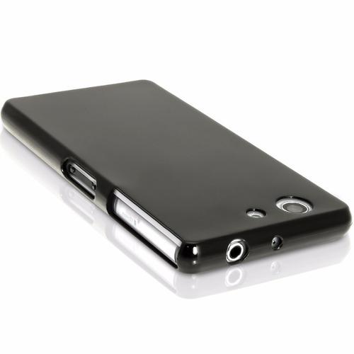 capa sony xperia z3 mini d5308 fumê flexível tpu soft gel