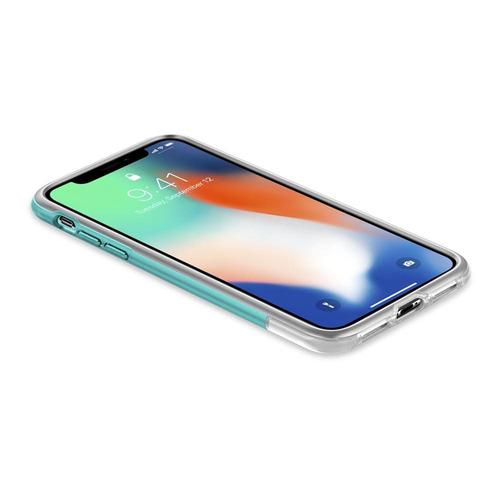 capa spigen apple iphone x xs edição imac g3 classic c1 azul