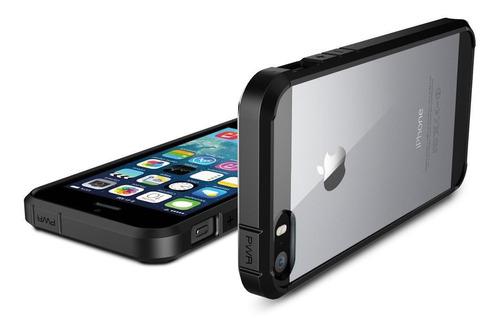 capa spigen original apple iphone 5 5s se ultra hydrid