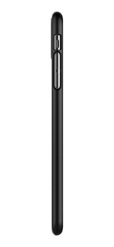 capa spigen p/ iphone xs max thin fit ultra slim black