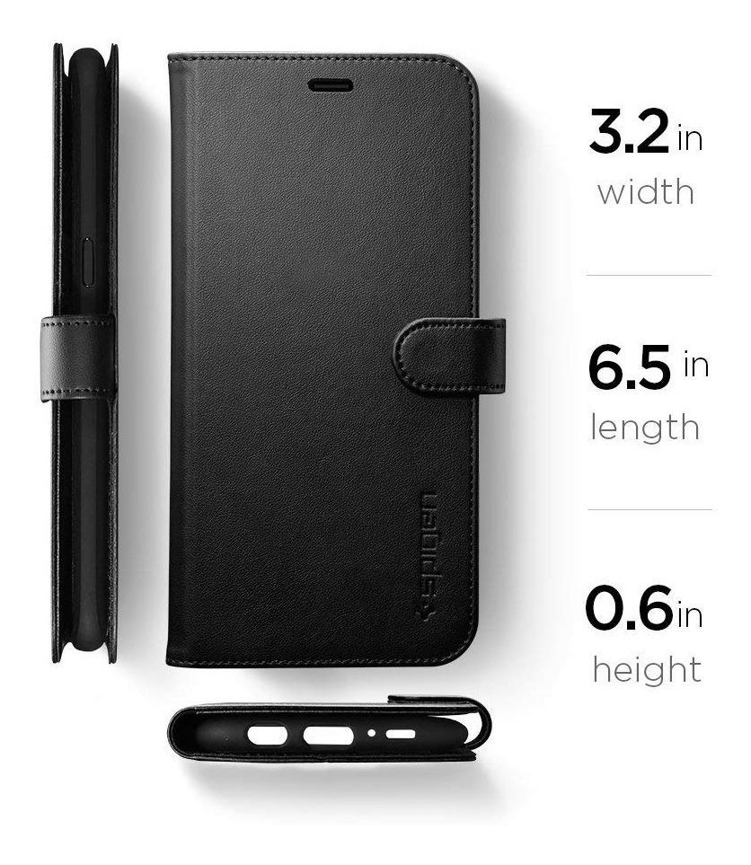 on sale e2625 03e69 Capa Spigen Wallet Flip Carteira Para Samsung Galaxy S8 Plus
