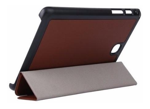 capa tablet samsung galaxy tab a 8.0 - t350 t355 + pelicula