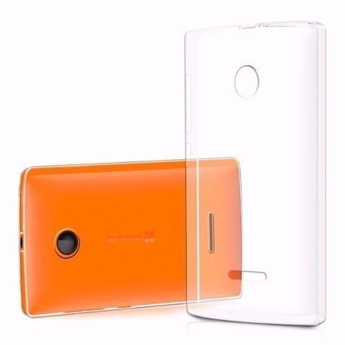 capa tampa traseira celular lumia 435 rm1114 + capinha tpu