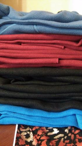 capa tapado polar c/capucha larga talles especiales 4 al 10