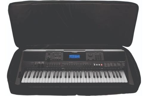 capa teclado 5/8 acolchoado casio yamaha psr ka10 - loja