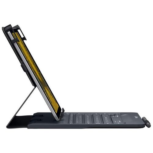 capa teclado para ipad 6ª geração, preta, un.folio, logitech
