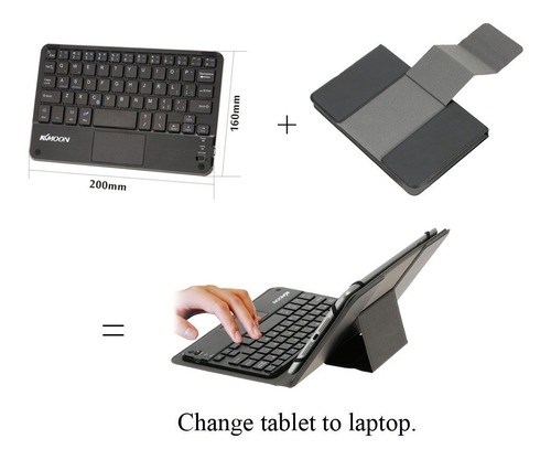 capa teclado(mouse) para tablet samsung tab a  8'' 2017 2019