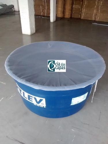 capa (tela) para caixa dágua redonda de 1000 litros