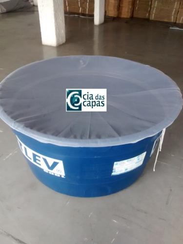 capa (tela) para caixa dágua redonda de 500 litros