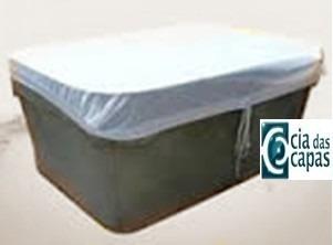 capa (tela) para caixa dágua retangular de 1000 litros
