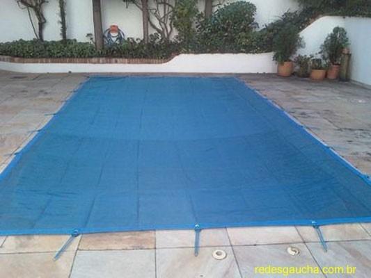 Capa tela prote o piscina 4x7 contra sujeiras e insetos for Piscina 7 de agosto