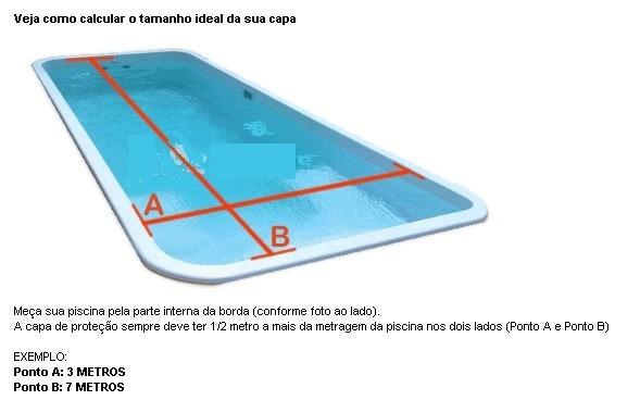 Capa t rmica para piscinas 4 x 8 thermocap r 432 00 em for Piscina 4 x 2