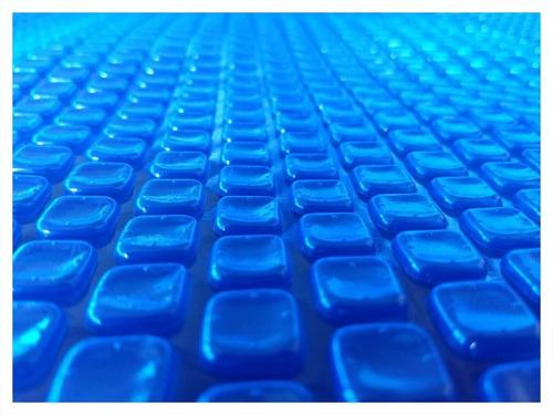 capa térmica para piscinas 6x3 bolha quadrada 300 micras