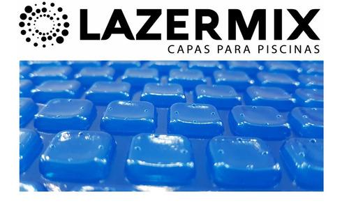 capa térmica piscina 8,00 x 4,00 - 300 micras - azul