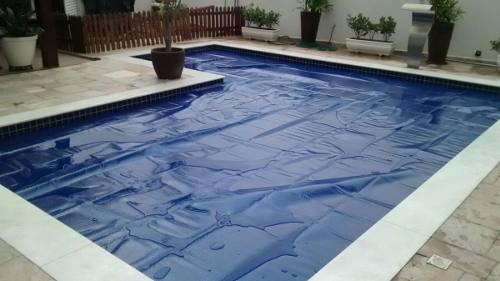 capa térmica piscina