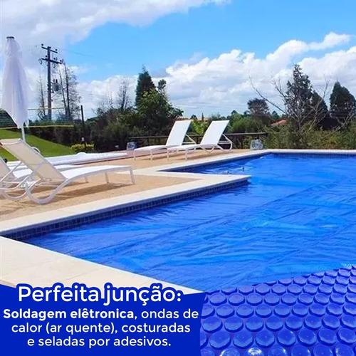 capa térmica piscinas aquecida spas ofuro 2,50 x 2,20 m lona
