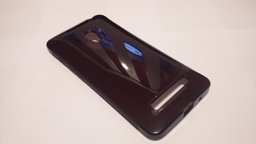 capa tpu  fumê + transparente asus zenfone 5 a501+ pelicula