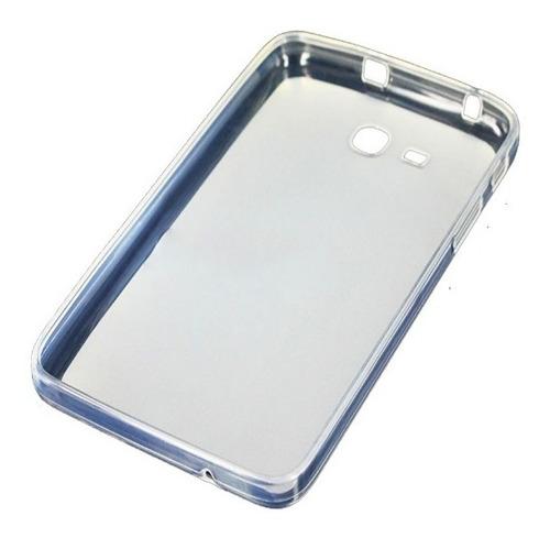 capa tpu galaxy tab 3 7.0 lite t110 t111 + película de vidro
