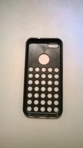 capa tpu iphone 5c preta