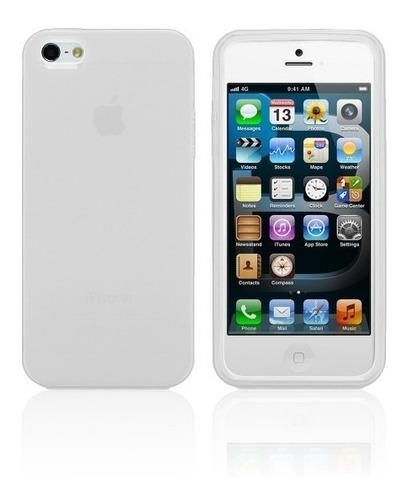 capa tpu iphone 5g translúcida