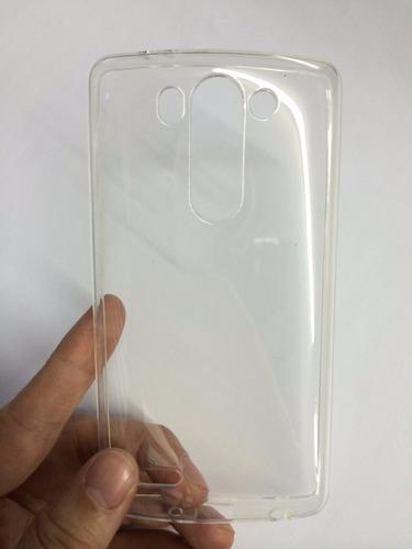 capa tpu lg g3 mini beat d722/723 + película vidro temperado