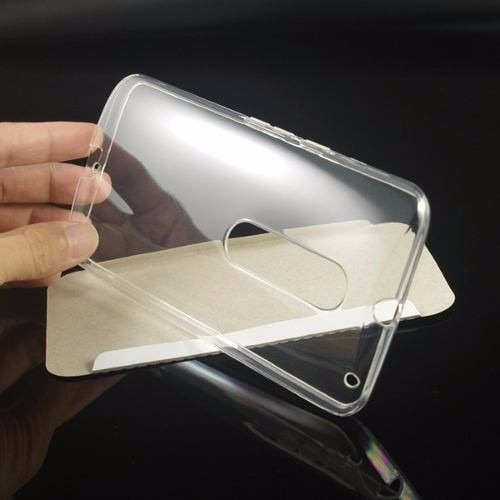 capa tpu moto x style xt1572 tela 5,7 + película de vidro