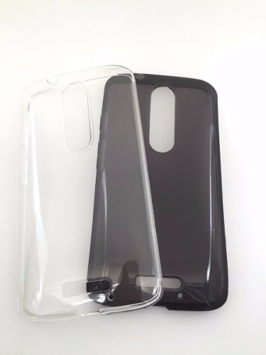 capa tpu motorola x force dual xt1580 + pelicula de vidro