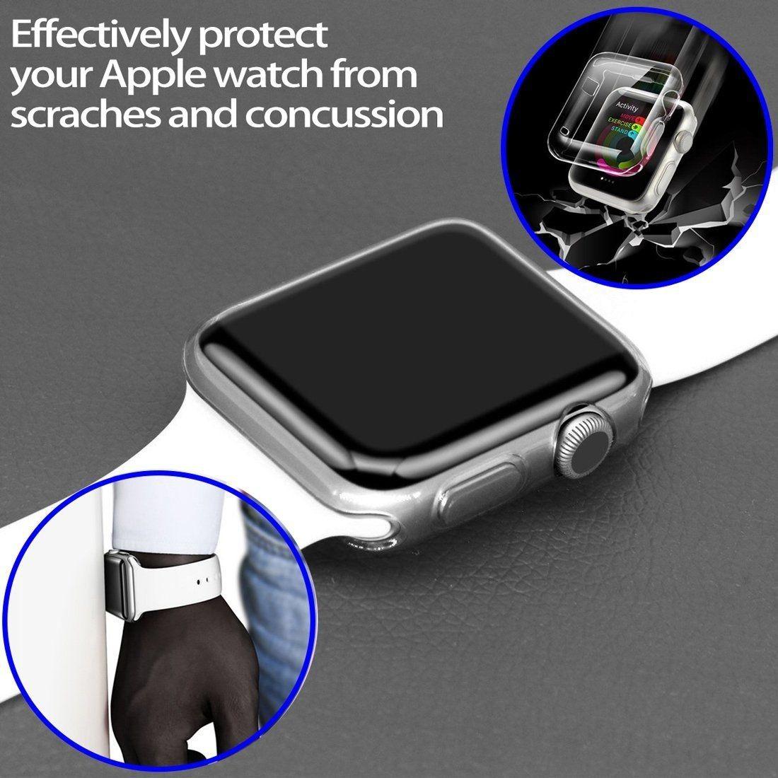 2ffca89a6ee capa tpu relógio apple iwatch 3 42mm. 11 Fotos
