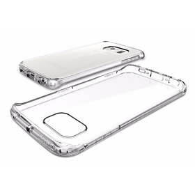 Capa Tpu Samsung Galaxy S6 Edge + Película Vidro Temperado