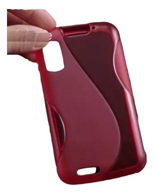 capa tpu silicone motorola atrix mb860 brinde pelicula de plastico