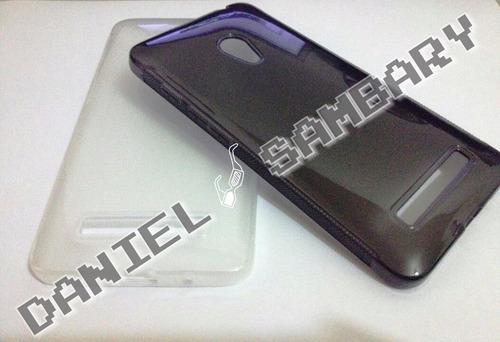 capa tpu silicone zenfone 6 transparente/fume 100pçs atacado