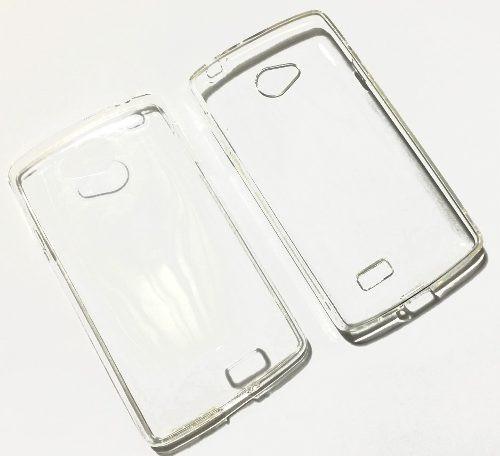 capa transparente + película vidro lg f60 d390 d392 d395